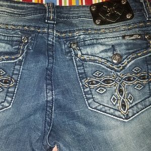 Miss me jeans 32/30.5 straight/boot